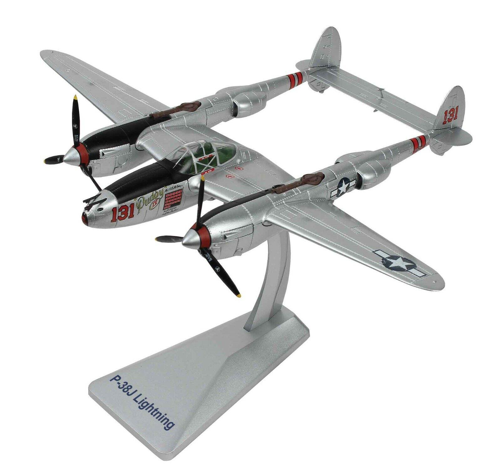 AIRFORCE 1 AF1-0150 1 48 P38j Lightning WWII ACE McGuire  Pudgy IV  fighter