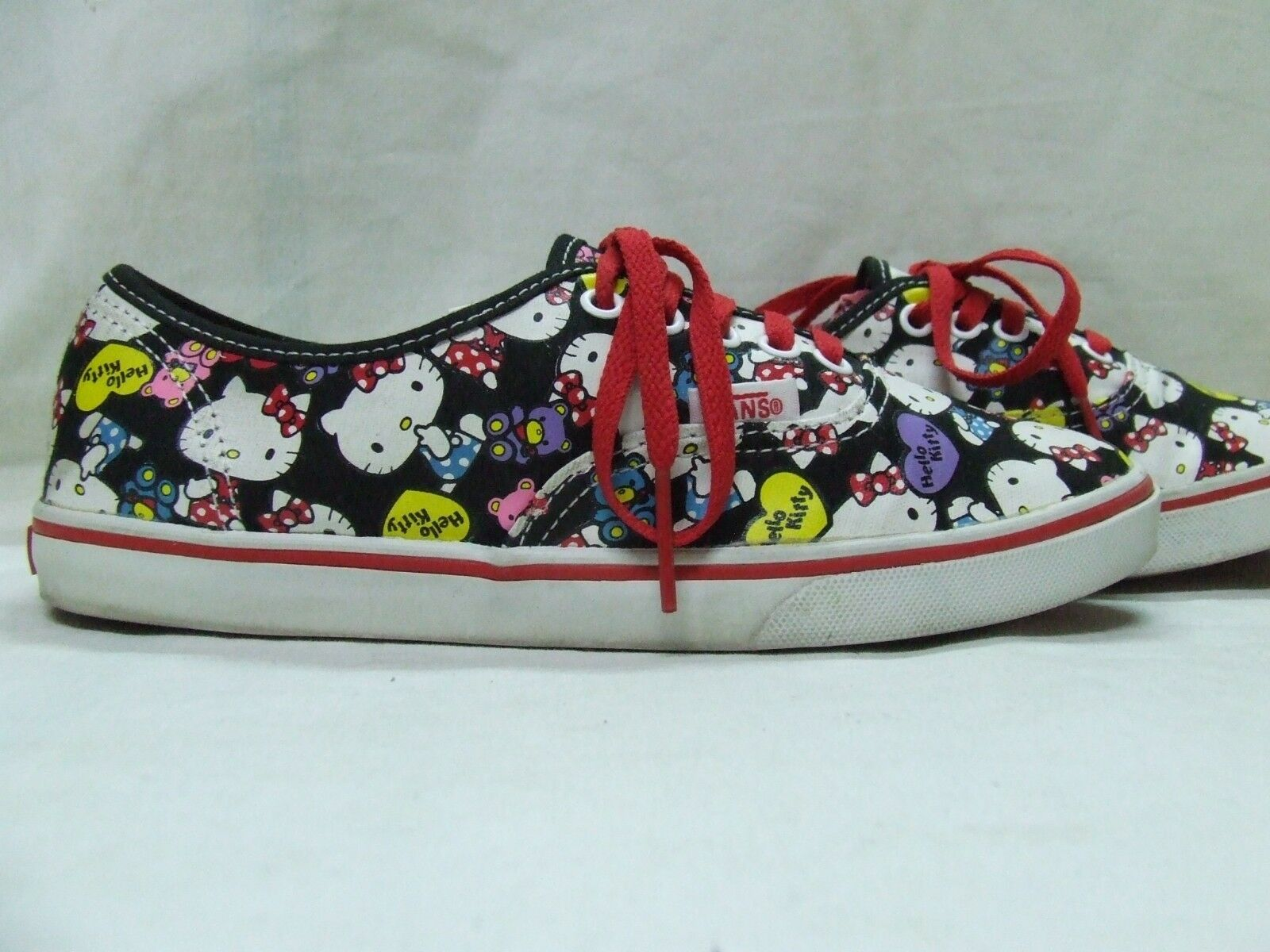 SHOES WOMAN VINTAGE VANS HELLO KITTY size 4 - 35 (013)