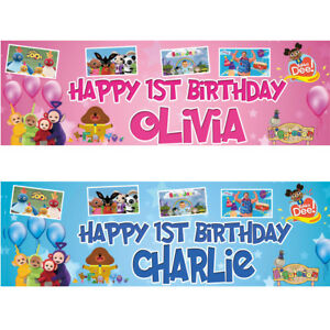 2-Striscione-di-compleanno-personalizzati-da-Teletubbies-per-Bing-Bambini-Kids-Party-Poster-Deco
