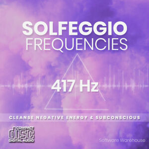 Details about Solfeggio Healing Frequencies - 417 Hz Meditation CD - Mind  and Body in Harmony