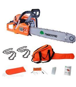 Timberpro-62cc-Kettensage-mit-Leiste-und-Sagekett-Unterstutzt-50cm