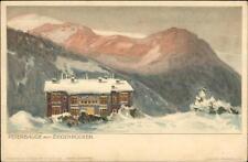 Swiss Mountains? Peterbaude mit Ziegenrucken - Ernest Nister Postcard c1900