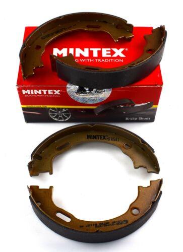 MINTEX REAR PARKING BRAKE SHOE SET MERCEDES BENZ MFR541 REAL IMAGE OF PART
