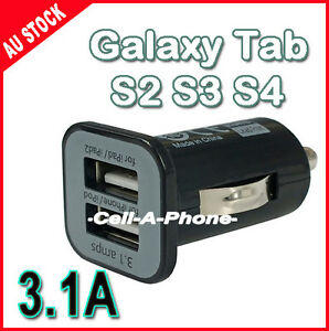 Car-Cigarette-Lighter-USB-Charger-for-Galaxy-Tab-S3-S4-iPhone-4-5-5s-6-ipad-air