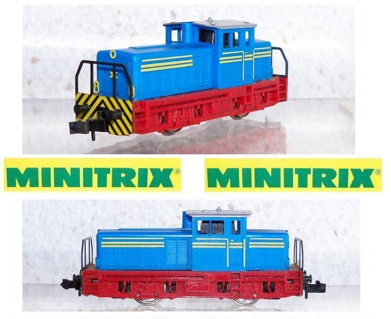 MINITRIX 12066 E-Look LOCOMOTORE DIESEL OVP SCALA-N