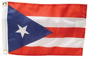 Puerto Rico Flag 12 X 18 Seachoice 78281