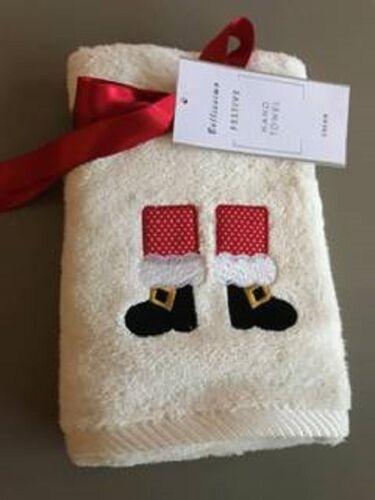 100/% Coton Noël Serviette à main 46 x 71 cm