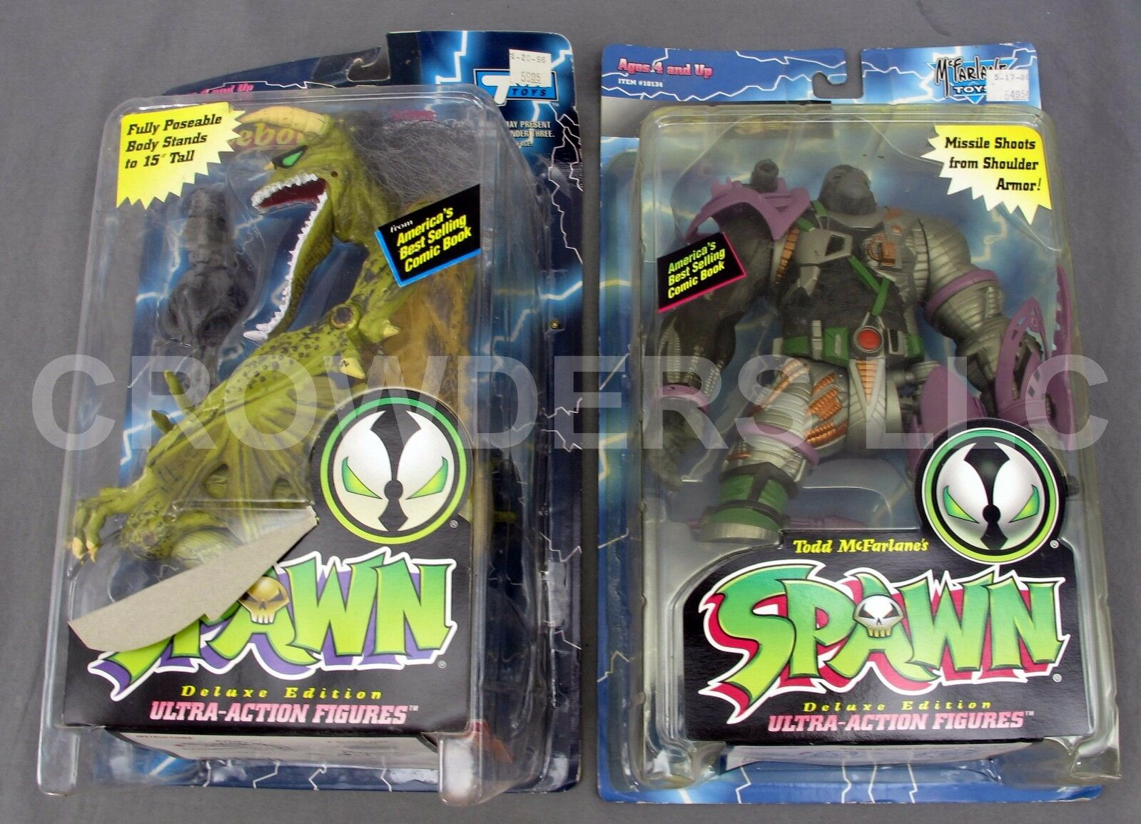 Spawn Cy-Gor & Malebolgia Deluxe Edition Ultra-Action Figures McFarlane Toys NIP