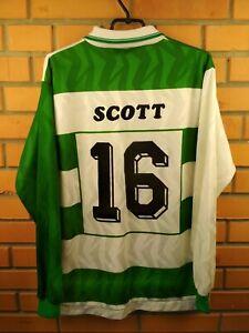 Scott Ossett Allstars Jersey LARGE Long Sleeve Shirt Soccer Football Alpa Trikot