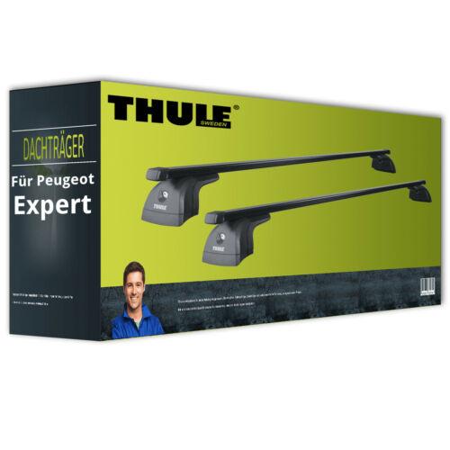 für Peugeot Expert  NEU kpl Dachträger inkl Thule SquareBar Stahl EBA