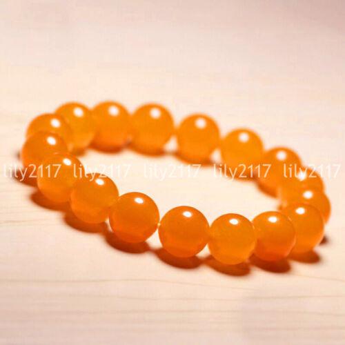 "Natural 6//8//10//12mm Topaz Jade Ruby Gemstone Round Beads Bangle Bracelet 7.5/"" AA"