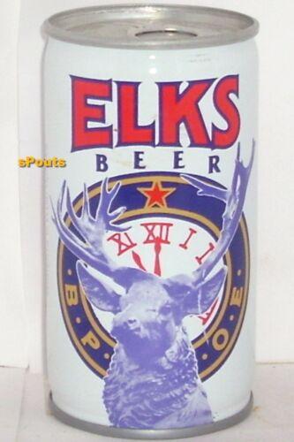 ELKS LODGE 11 PITTSBURGH,PA TIN BEER CAN PENNSYLVANIA 100 YEARS 1979 STEEL BULL