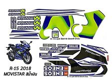 Stickers for Yamaha Yzf-r15 Graphic Kit Decal 3m Body and Rim