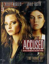 THE ACCUSED~1988 VGCVD~KELLY McGILLIS JODIE FOSTER LEO ROSSI PETER VAN NORDEN