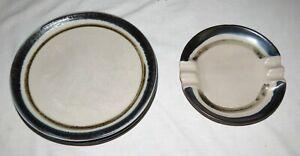Chatham-Pottery-Anthony-Patron-Cinco-9-1-9cm-Platos-Cena-amp-Bonus-Cenicero