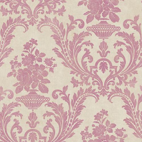 Stripes /& Damasks Pink Damask Galerie Wallpaper SD36154