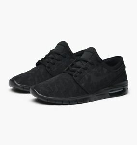 349e88fe186 Men s Nike SB Stefan Janoski Max Skateboarding Shoes 631303-099 Size ...