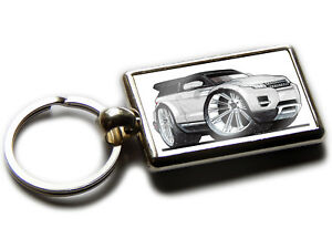 range rover evoque mini suv voiture koolart chrome porte cl photo ebay. Black Bedroom Furniture Sets. Home Design Ideas