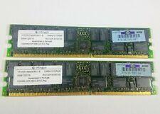 INFINEON HYS72D128020GR-8-A SERVER RAM MEMORIES PC1600 DDR-200 ECC 4 x 1GB 4GB