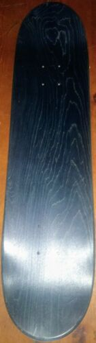 """Blue-Green Stained Top Blank Bottom Skateboard Deck 8.0/"""" Maple Handcrafted USA!"""