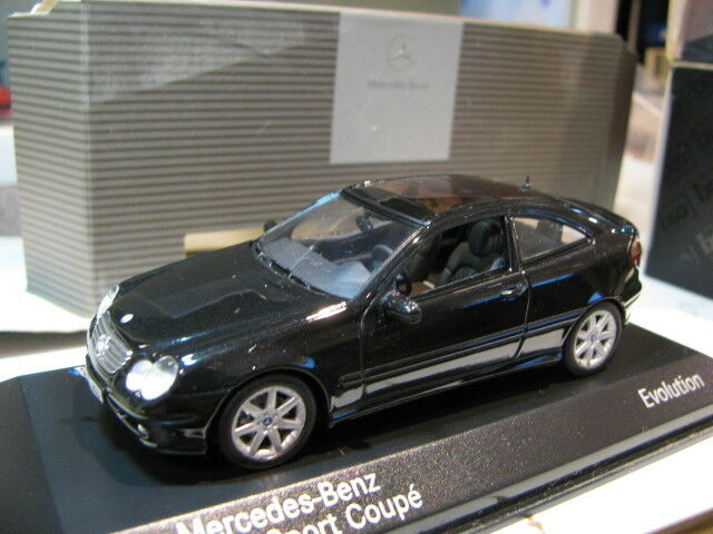 1/43 Minichamps Mercedes Benz Clase C Sport Coupe evolución Diecast