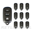 10P New Replacement Entry Keyless Car Key Remote Rear Glass Fob For 4b HYQ12BBX