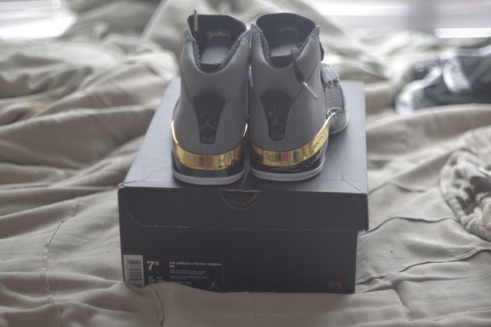 NEW Nike Air Jordan Retro 17 Trophy Room Size 7.5