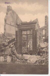 Etain Zerstörte Gebäude feldpgl1916 201.014