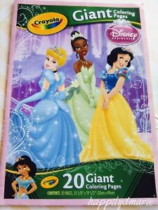 CRAYOLA DISNEY PRINCESSES Giant Coloring Pages 18 of 20 ...