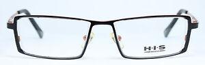 H-I-S-HIS-Original-Brille-Eyeglasses-Occhiali-Lunettes-Gafas-HT305-001-Etui