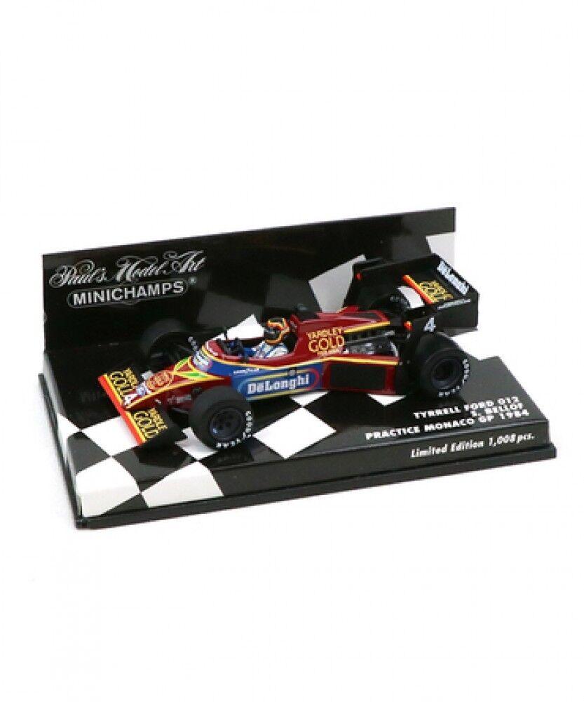 ny Mini Champs 1 43 Scale Tyrell Ford 012 S. Bellofu 1984 Monaco GP Japan