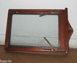 image is loading vintage kodak wooden camera enlarging frame 2 glass