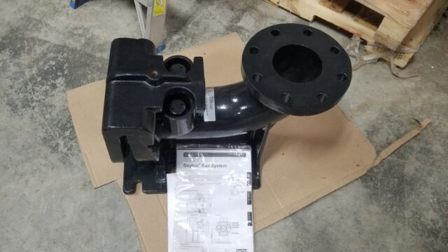 Sludge Pump Guide Rail 4 in Flange CI Dayton 20Y788