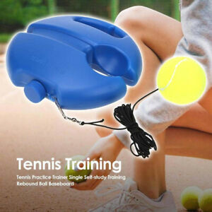 Single-Tennis-Trainer-Training-Practice-Rebound-Ball-Back-Base-Tool-NEW-SALE