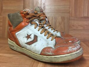 07cb1c3d733 WORN🔥 Converse NBA Weapon High Top Basketball Shoe Vintage 13 Dr J ...