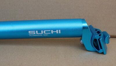 SUCHI MTB Road Bike Saddle Seat post Bicycle Seatpost 27.2 30.4 30.8 31.6*350mm