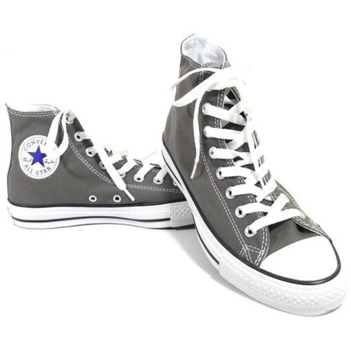 CONVERSE DAMEN SCHUHE ALL 1J793 STAR HI GRAU 1J793 ALL CHUCKS SNEAKERS GR. 37,5 893e7b