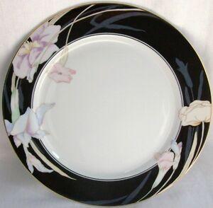 Mikasa Charisma-Black Pattern # L 9050 Salad Plate 7 1/2\