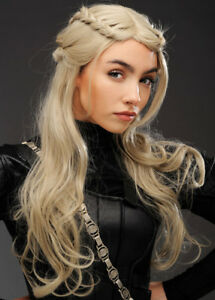 Womens-Deluxe-Mother-of-Dragons-Style-Ash-Blonde-Wig