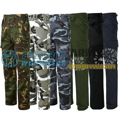 Castle 901 Woodland Camouflage Work Trousers