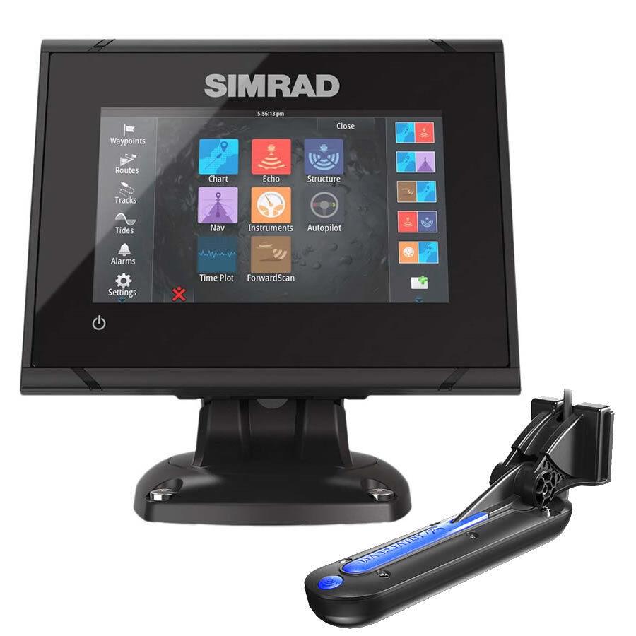 SIMRAD GO5 XSE COMBO ECO  CHARTPLOTTER CON TRASDUTTORE TOTAL SCAN 00012673001