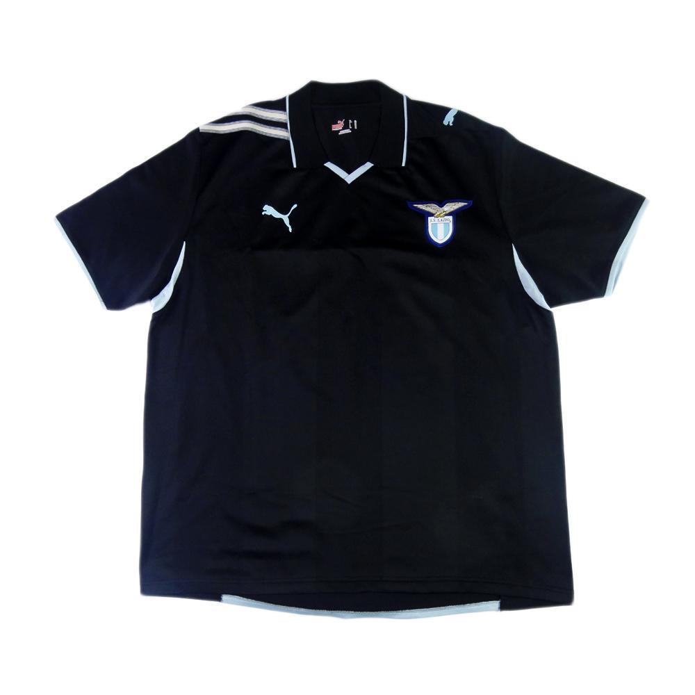 2008-09 Lazio MAILLOT Un moyen XL (HAUT) haut maillot maillot