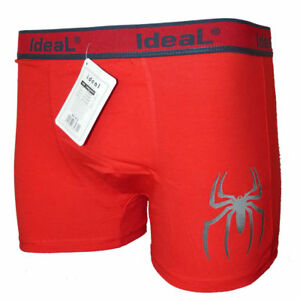 Funny-Halloween-Cotton-Metal-Rock-Gothic-Spider-Boxer-Shorts-Prank-Birthday-Gift