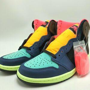 Details about Nike Air Jordan 1 Retro High OG Men's Shoes Tokyo Bio Hack  555088-201 sz 11-12