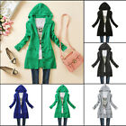 2016 Women Knitted Hooded Sweater Long Sleeve Casual Cardigan Coat Outwear Top