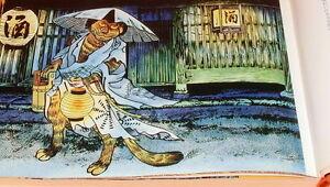 Japanese Monster Yokai Encyclopedia by Shigeru Mizuki book japan #0521