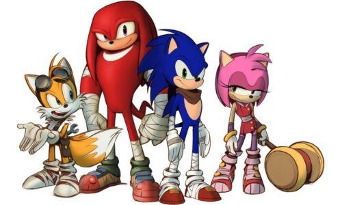 Novo presente Sonic The Hedgehog Personagens de Anime Mini Cobertor De Bebê #38750