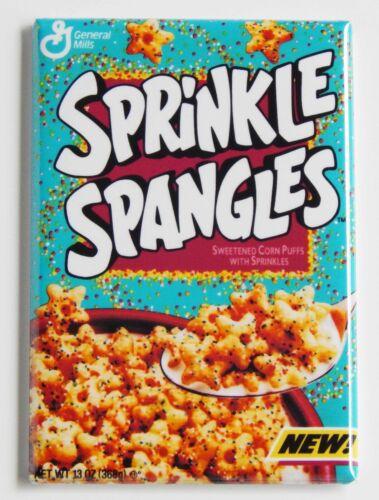 Sprinkle Spangles FRIDGE MAGNET cereal box