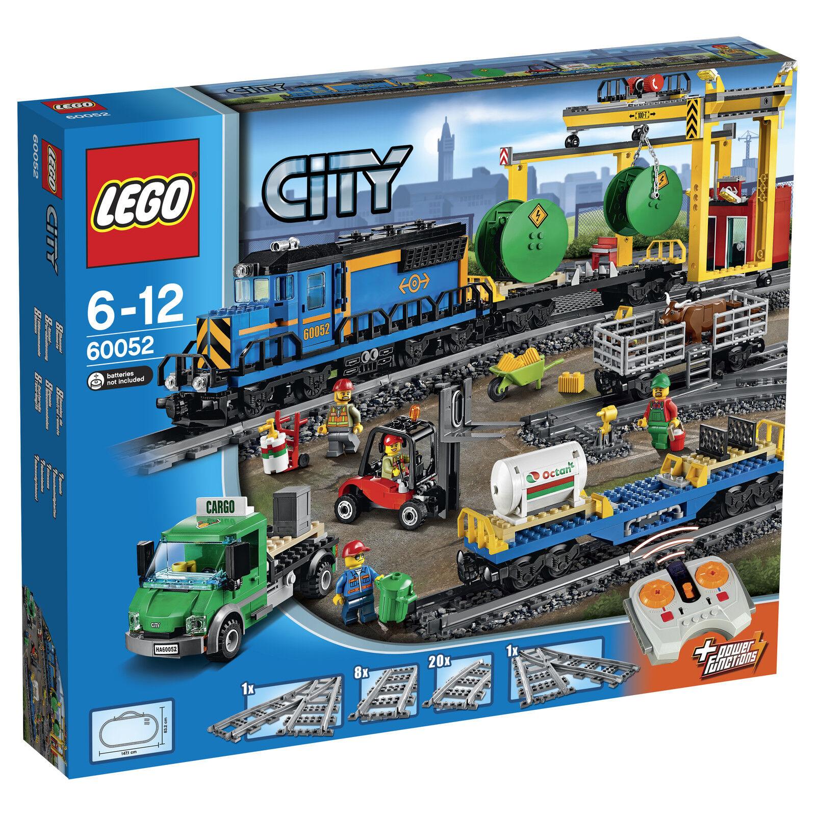 Lego ® City  60052 Freight Train nouveau OP voiturego Train nouveau MISB NRFB  excellent prix