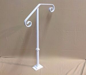 Image Is Loading New Handrail Wrought Iron 1 2 Steps Steel